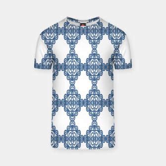 Spanish Blue mosaic  Camiseta miniature