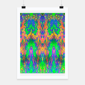 Miniatur Psychedelic Spill 24 Poster, Live Heroes