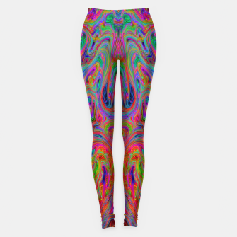 Miniatur Psychedelic Spill 25 Leggings, Live Heroes