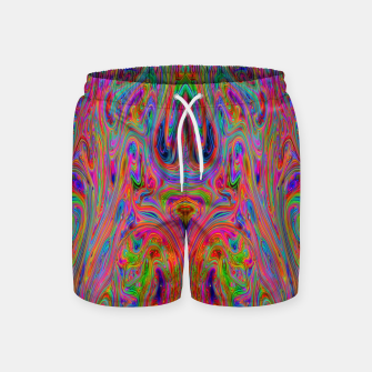 Miniatur Psychedelic Spill 25 Swim Shorts, Live Heroes