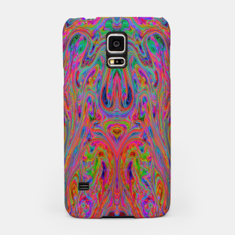 Miniatur Psychedelic Spill 25 Samsung Case, Live Heroes
