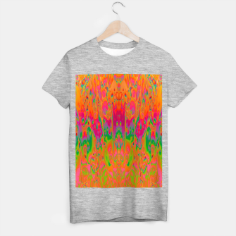 Miniatur Psychedelic Spill 19 T-shirt regular, Live Heroes