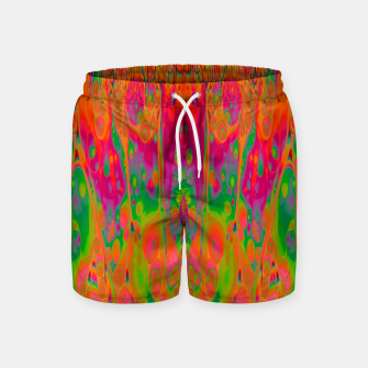 Thumbnail image of Psychedelic Spill 19 Swim Shorts, Live Heroes