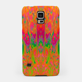 Miniatur Psychedelic Spill 19 Samsung Case, Live Heroes