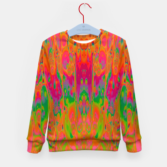 Miniatur Psychedelic Spill 19 Kid's sweater, Live Heroes
