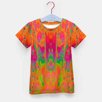 Miniatur Psychedelic Spill 19 Kid's t-shirt, Live Heroes