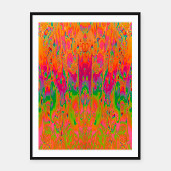 Miniatur Psychedelic Spill 19 Framed poster, Live Heroes