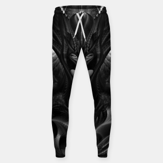 Miniatur Taidushan Sai The Talons Of Time Black Sun Fractal Portrait Sweatpants, Live Heroes