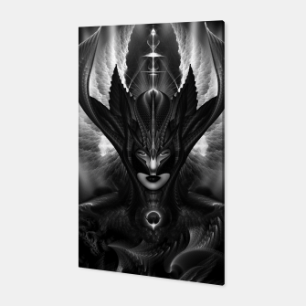 Miniatur Taidushan Sai The Talons Of Time Black Sun Fractal Portrait Canvas, Live Heroes