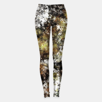 Thumbnail image of Chipping at the surface Leggings, Live Heroes