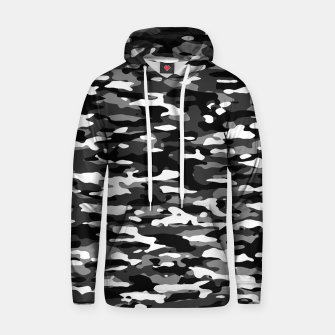 Miniatur Snow Camouflage Pattern Kapuzenpullover, Live Heroes