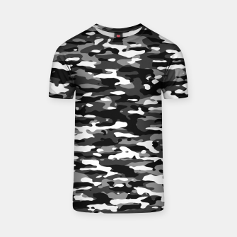 Thumbnail image of Snow Camouflage Pattern T-Shirt, Live Heroes