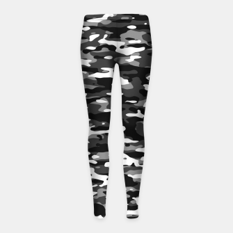 Thumbnail image of Snow Camouflage Pattern Kinder-Leggins, Live Heroes
