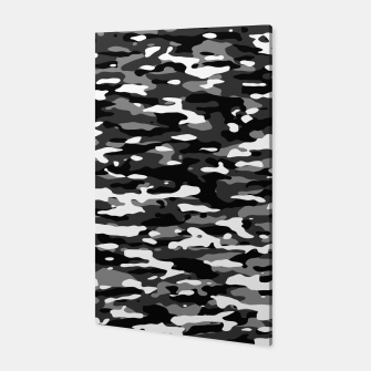 Miniatur Snow Camouflage Pattern Canvas, Live Heroes