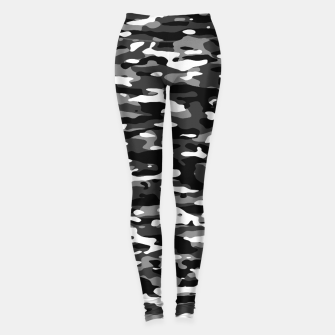 Thumbnail image of Snow Camouflage Pattern Leggings, Live Heroes