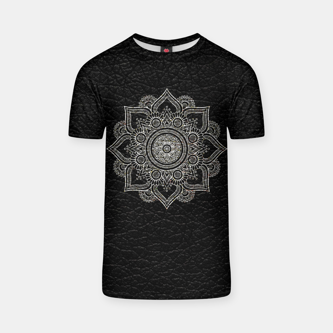 Image of Black and White Traditional Bohemian Moroccan Artwork. T-shirt - Live Heroes