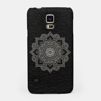Thumbnail image of Black and White Traditional Bohemian Moroccan Artwork. Samsung Case, Live Heroes