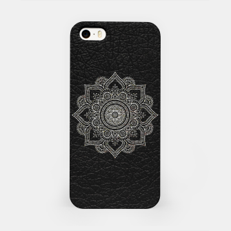 Thumbnail image of Black and White Traditional Bohemian Moroccan Artwork. iPhone Case, Live Heroes