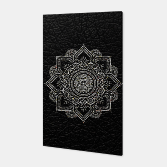 Thumbnail image of Black and White Traditional Bohemian Moroccan Artwork. Canvas, Live Heroes