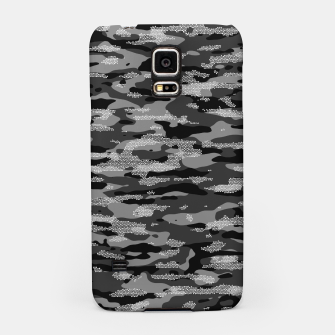 Snow Camouflage Pattern Mosaic Style Handyhülle für Samsung thumbnail image