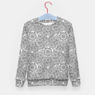 Floral - BW - Mandala Pattern - 02 Kid's sweater miniature