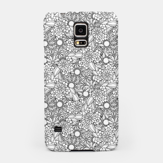 Miniatur Floral - BW - Mandala Pattern - 04 Samsung Case, Live Heroes