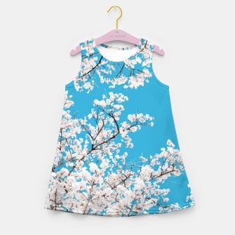 Thumbnail image of White Blossom Girl's summer dress, Live Heroes