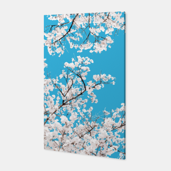 Thumbnail image of White Blossom Canvas, Live Heroes