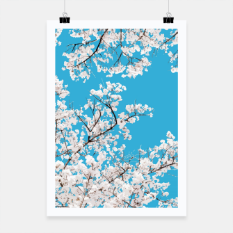 Thumbnail image of White Blossom Poster, Live Heroes