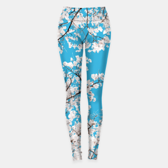 Thumbnail image of White Blossom Leggings, Live Heroes
