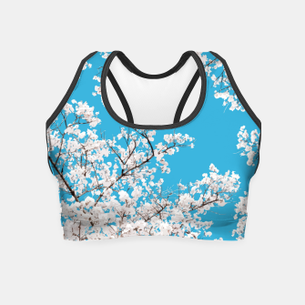 Thumbnail image of White Blossom Crop Top, Live Heroes