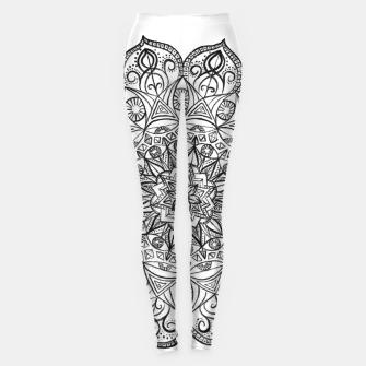 White Visionary Mandala Leggings thumbnail image