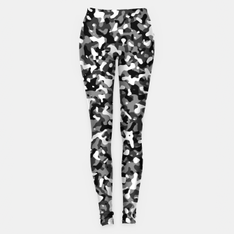Thumbnail image of Snow Pattern Camouflage Style Leggings, Live Heroes