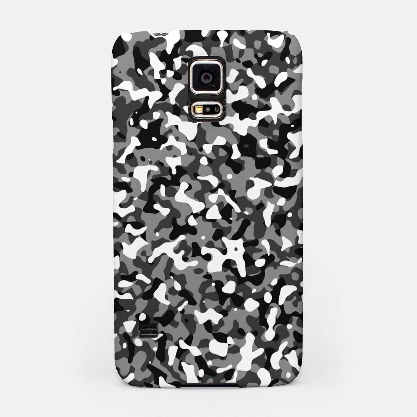 Image of Snow Pattern Camouflage Style Handyhülle für Samsung - Live Heroes
