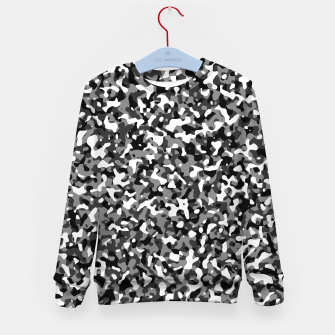 Thumbnail image of Snow Pattern Camouflage Style Kindersweatshirt, Live Heroes