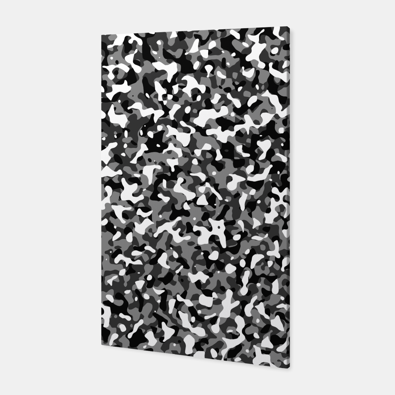 Foto Snow Pattern Camouflage Style Canvas - Live Heroes