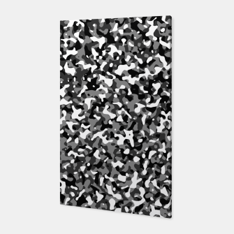 Thumbnail image of Snow Pattern Camouflage Style Canvas, Live Heroes
