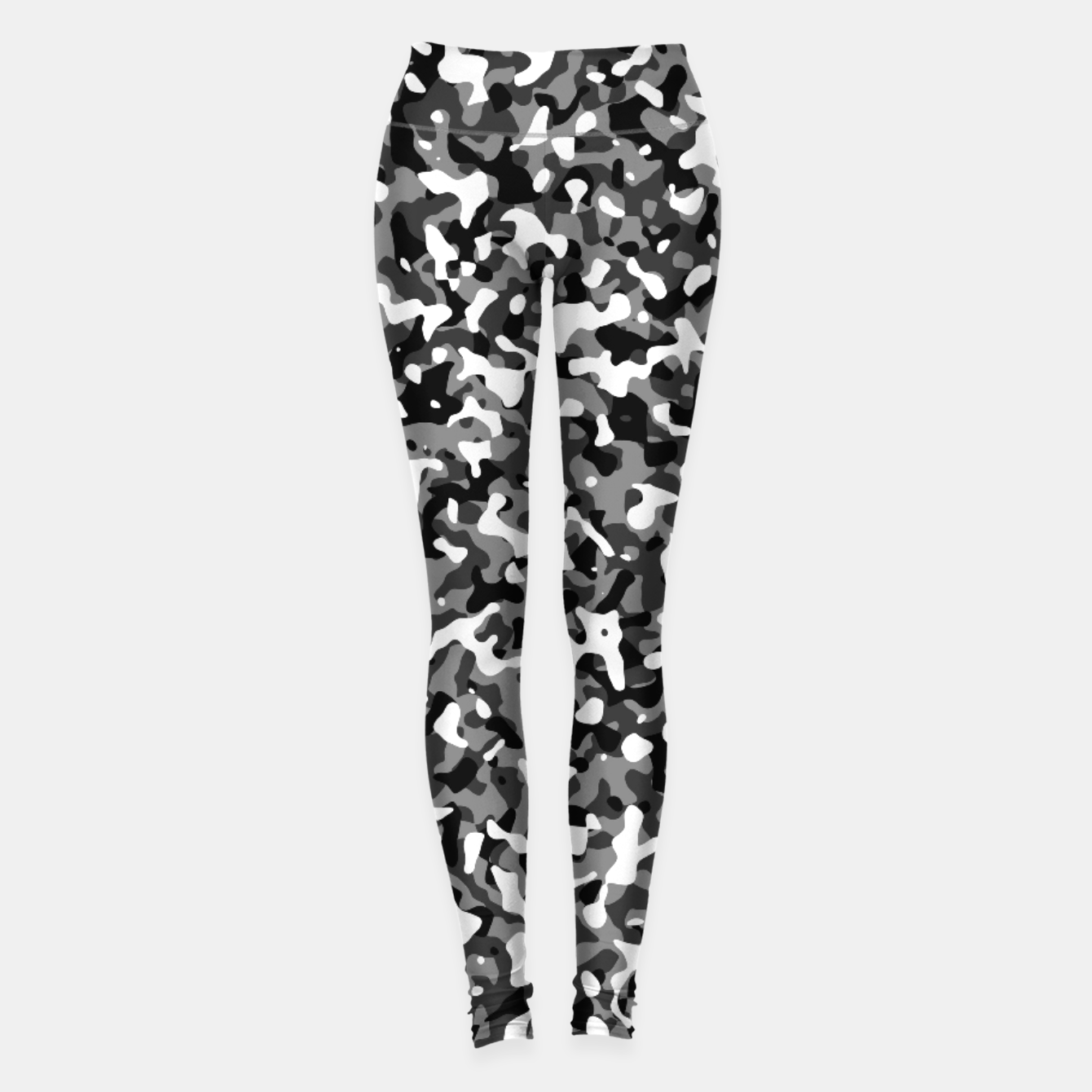 Image of Snow Pattern Camouflage Style Leggings - Live Heroes