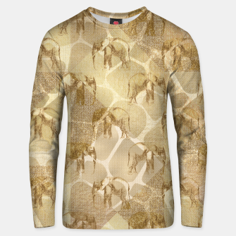 Thumbnail image of Abstract Safari Unisex sweater, Live Heroes