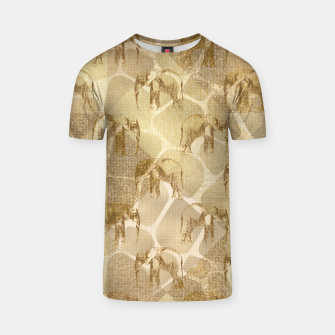 Imagen en miniatura de Abstract Safari T-shirt, Live Heroes