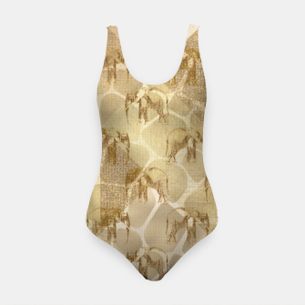 Thumbnail image of Abstract Safari Swimsuit, Live Heroes