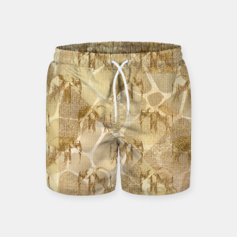 Imagen en miniatura de Abstract Safari Swim Shorts, Live Heroes