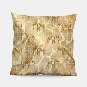 Imagen en miniatura de Abstract Safari Pillow, Live Heroes