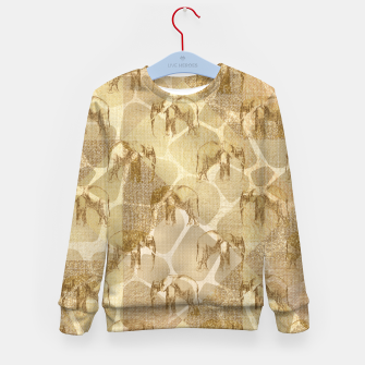 Thumbnail image of Abstract Safari Kid's sweater, Live Heroes