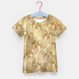 Imagen en miniatura de Abstract Safari Kid's t-shirt, Live Heroes