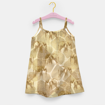 Imagen en miniatura de Abstract Safari Girl's dress, Live Heroes