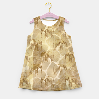 Imagen en miniatura de Abstract Safari Girl's summer dress, Live Heroes
