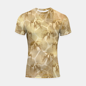 Imagen en miniatura de Abstract Safari Shortsleeve rashguard, Live Heroes