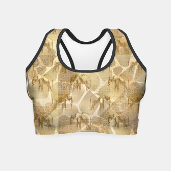 Imagen en miniatura de Abstract Safari Crop Top, Live Heroes