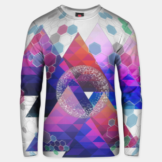 Triangle Planet  Unisex sweater Bild der Miniatur